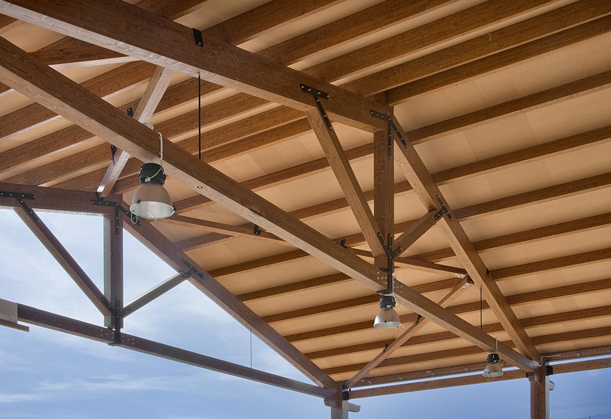 Sebastia estructuras en madera sebastia - Estructura madera laminada ...
